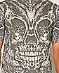 Sublimation Skull Ornament T shirt