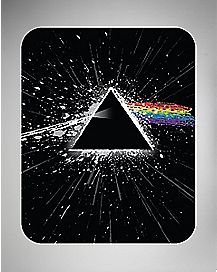Dark Side Of The Moon Pink Floyd Fleece Blanket