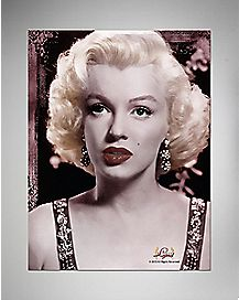 Marilyn Monroe Lips Faux Fur Sherpa Fleece Blanket