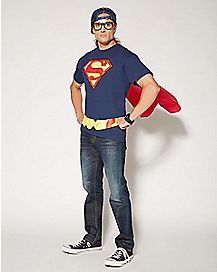 Caped Superman T shirt