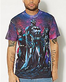 Sublimated Justice League T shirt