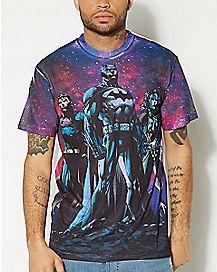 Sublimated Justice League T shirt - DC Comics