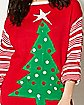 Light Up Christmas Tree Ugly Christmas Sweater