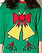 Light Up Singing Bell Ugly Christmas Sweater