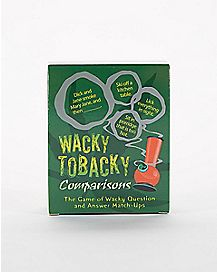 Wacky Tobacky Comparisons Card Game