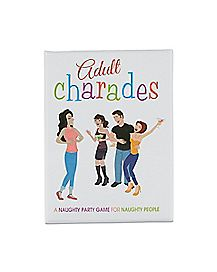 Adult Charades Card Game
