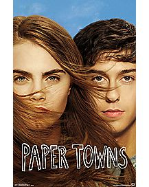 One Sheet Paper Towns Poster