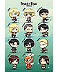 Chibi Characters Attack On Titan Poster