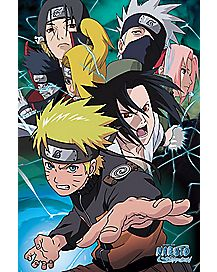 Group Team 7 Naruto Poster