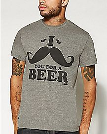 I Moustache You For A Beer Bottle Opener T shirt