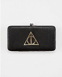 Harry Potter Deathly Hallows Hinge Wallet