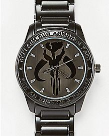 Warriors of Mandalore Star Wars Analog Watch