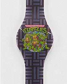 Purple Group Shot LED Watch - TMNT