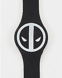 Deadpool LED Watch Black - Marvel Comics
