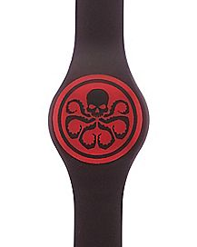 Hydra LED Watch Black and Red