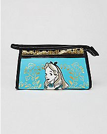 Sketch Alice in Wonderland Makeup Bag