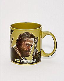 Hunt Handle Rick Grimes Walking Dead Mug 20 oz