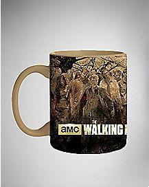 Zombies Ahead Walking Dead Mug 20 oz