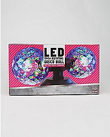 Twin Rotating LED Disco Ball