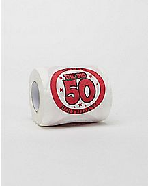 50 and Sexy Toilet Paper