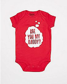 Are You My Daddy Baby Bodysuit