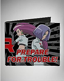Team Rocket Pokemon Bifold Wallet