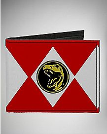 Red Ranger Power Ranger Bifold Wallet