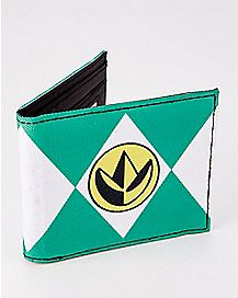 Green Ranger Power Rangers Bifold Wallet