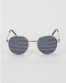 USA Round Sunglasses