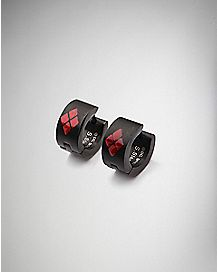 Harley Quinn Huggie Earrings - DC Comics