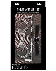 Pleasure Bound Shut Me Up Bondage Kit