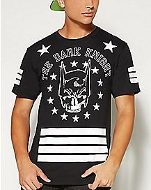 Dark Knight Striped Guys T shirt