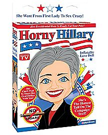 Horny Hillary Blow-Up Doll