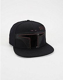 Warrior of Mandalore Star Helmet Wars Snapback Hat