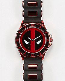 Deadpool Watch Bullet Band Black