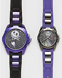 Jack and Sally Nightmare Before Christmas Watch