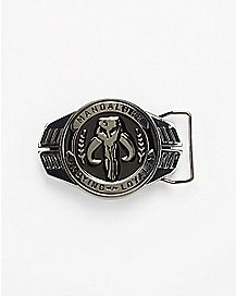 Warriors of Mandalore Star Wars Belt Buckle
