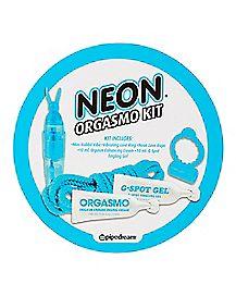 Neon Orgasmo Kit - Blue