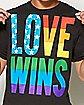 Love Wins T shirt