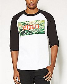 Lifted Raglan T shirt