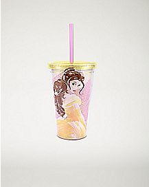 Belle Cup With Straw 16 oz. - Beauty and the Beast
