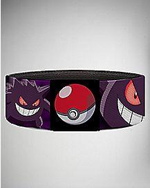 Pokemon Gengar Face Elastic Bracelet