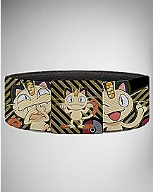 Pokemon Meowth Pokeball Elastic Bracelet