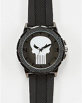 The Punisher Watch Black