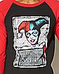 Harley Quinn Raglan T shirt