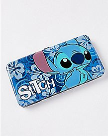 Floral Stitch Hinged Wallet