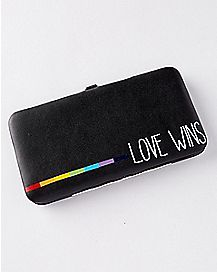 Love Wins Hinge Wallet