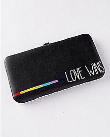 Love Wins Hinge Wallet