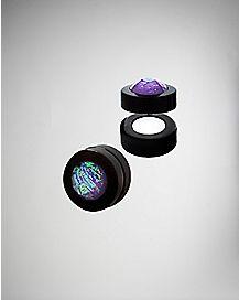 Purple Faced Stone Magnetic Plugs