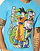 Film Strip Dragon Ball Z T shirt